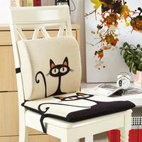 2 pcs/set Removable and Washable Cushion Cushion and Pillow Office Chair Cushion,Luxury Cartoon Cushions Home Decor Cute Pillows