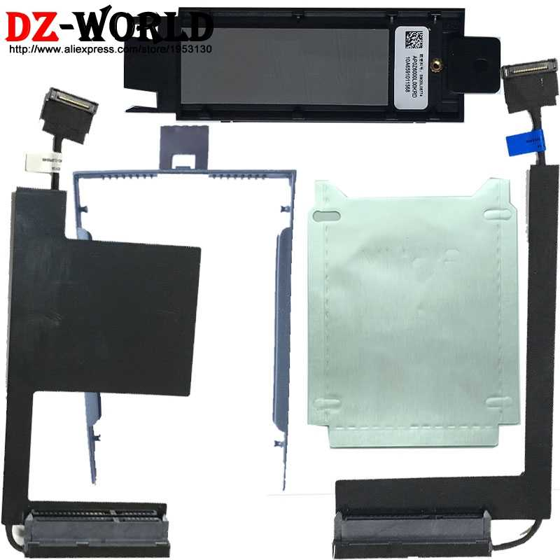 חדש PCI M.2 HDD _ Cable_Caddy Tray_Silver נייר עבור Lenovo ThinkPad P50 P51 סדרה, 00UR798 00UR835 00UR836 DC02C007C10 SC10K04563