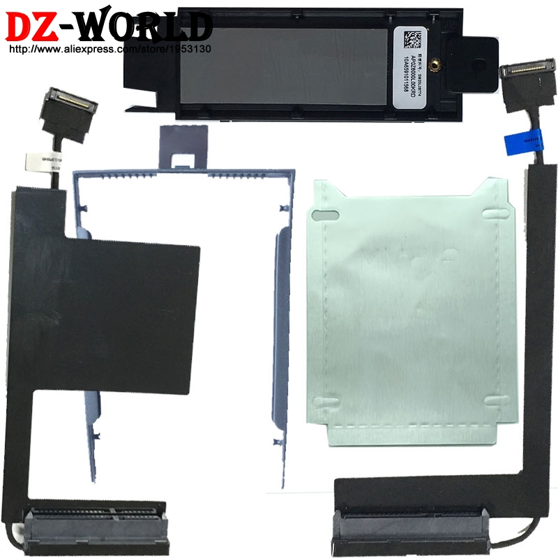 New PCI M.2 HDD_ Cable_Caddy Tray_Silver Paper For Lenovo ThinkPad P50 P51 Series,00UR798 00UR835 00UR836 DC02C007C10 SC10K04563