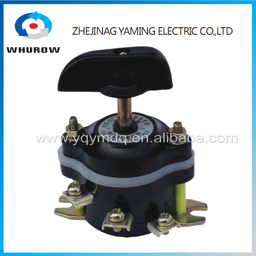 Rotary switch HZ10-10A transfer changeover rotary universal switch welding machine power shifter 380V 6 pins combined switch tp760 765 hz d7 0 1221a
