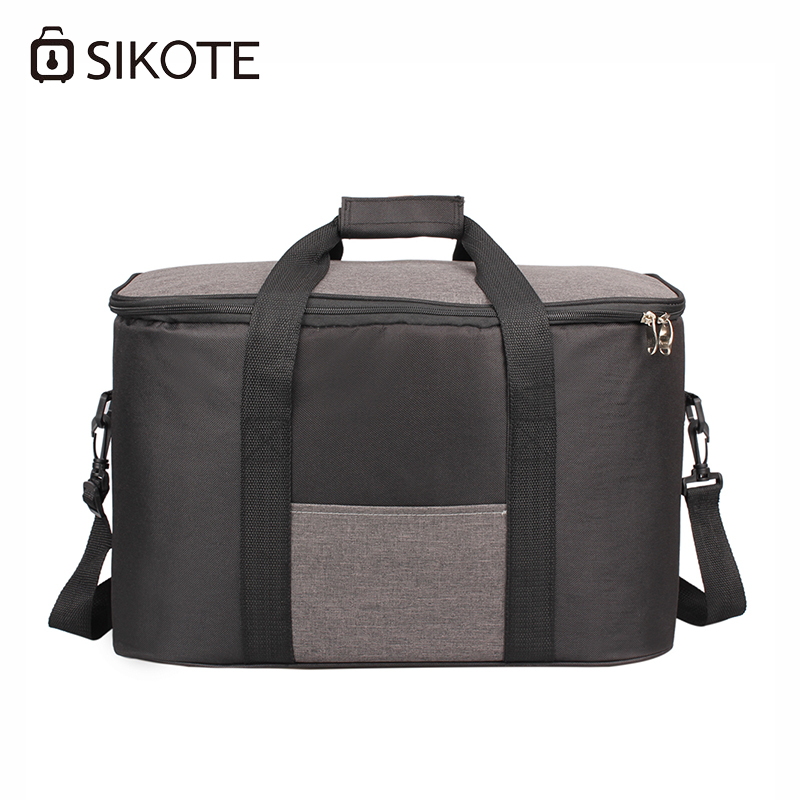 d8302ccf55b5 SIKOTE Portable Thermal Lunch Bags for Women Kids Men Multifunction Food  Picnic Cooler Box Insulated Tote