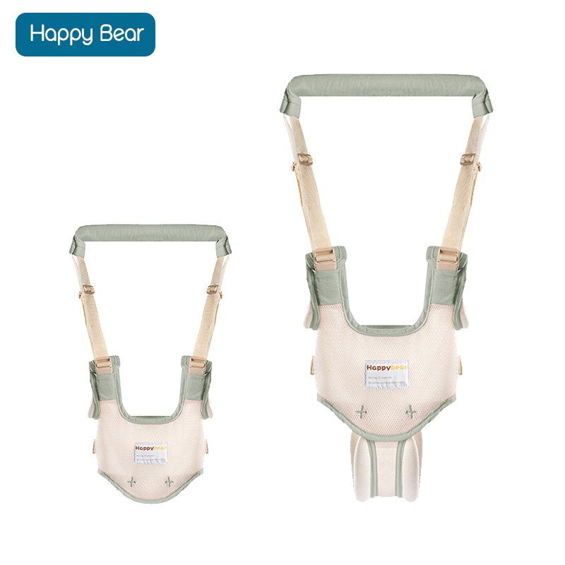 HappyBear Baby Safe Walking Belt Breathable Baby Harness 2 in 1 Design Walking Assistant for 6-24 Months Infant Toddler 1701
