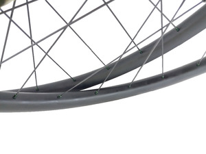 Image 5 - 650B XC 산악 자전거 카본 휠 30mm 후크리스 27.5er 튜브리스 휠셋 3K UD 12K 블랙 레드 실버 블루 그린 골드 니플