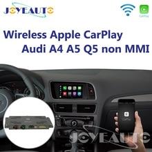 Joyeauto Wifi беспроводной Apple CarPlay автомобильный игровой Android авто зеркало A4 A5 Q5 не MMI OEM модифицированный сенсорный экран для Audi с iOS 13
