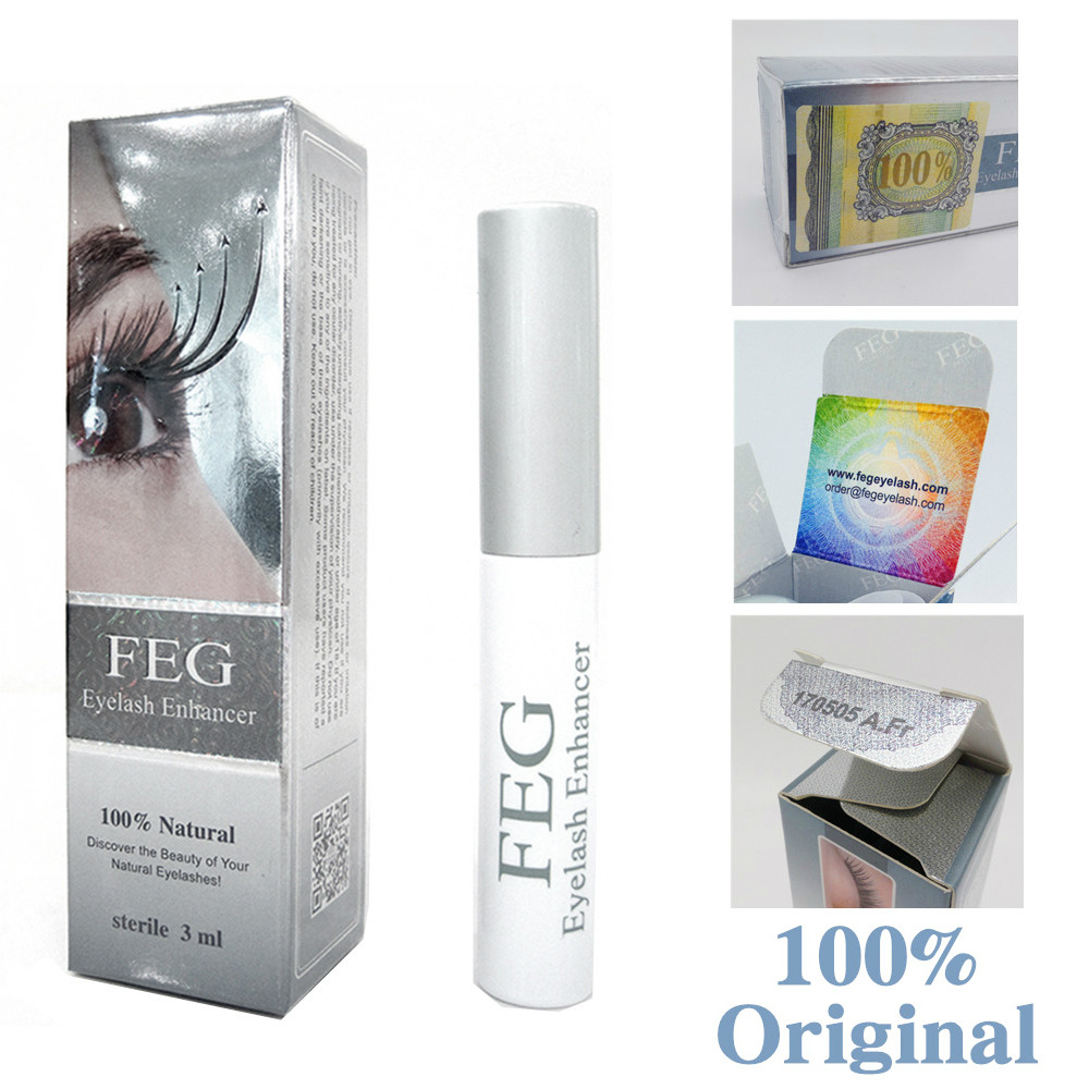 FEG Eyelash Enhancer 100% Original FEG Eyelash Growth Behandlung Eyelash Enhancer Serum Wimpernflüssigkeit
