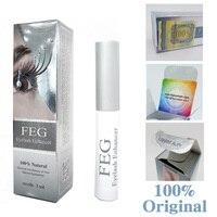 FEG Wimper enhancer 100% Original FEG wimpern wachstum behandlung wimpern enhancer serum wimpern flüssigkeit Echtem FEG dropshipping
