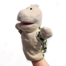 Cute Cartoon Animals Hand Puppet Baby Kids Soft Plush Hand Fantoches Doll Hand Puppets Toys Stuffed Interactive Toys Xmas Gifts
