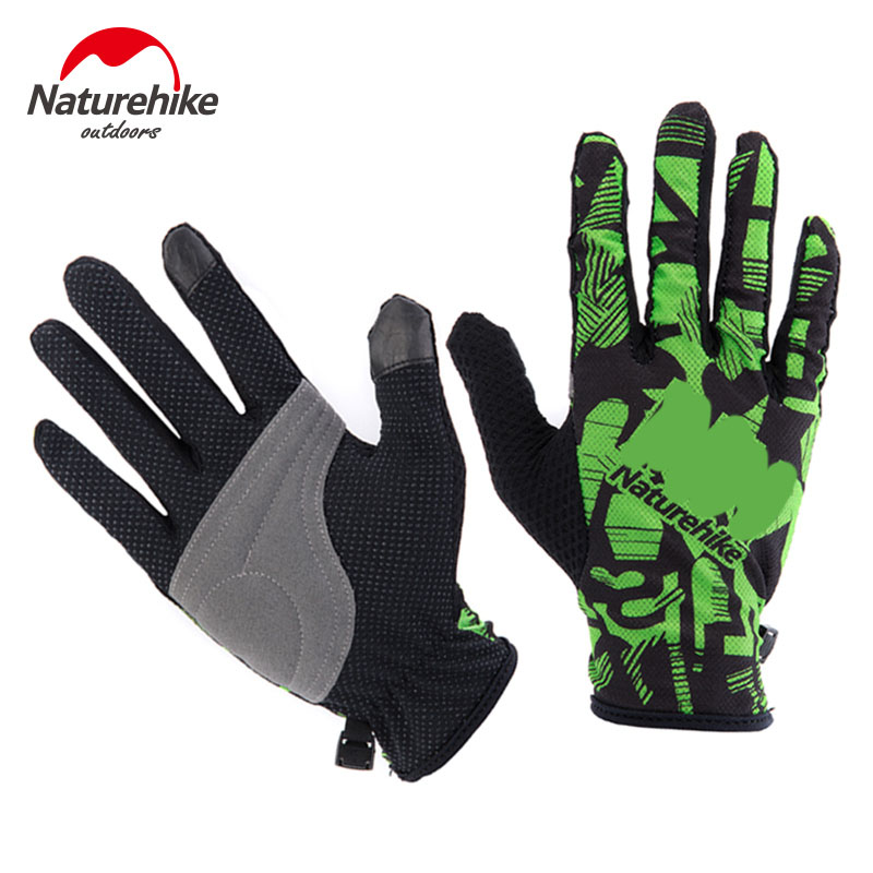 Naturehike outdoor sports unisex summer full gloves for hiking climbing training tactical gloves Cycling touch screen Gloves
