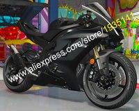 Лидер продаж, новые обтекатель Наборы для Yamaha YZF R6 2017 2018 YZF R6 17 18 матовый черный мотоцикл ABS боди Kit (впрыска литье)