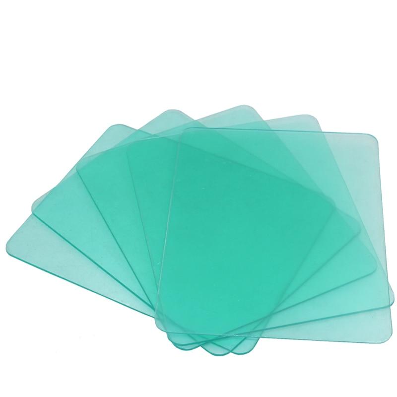 Plaque de protection en plastique (PC), 10 pièces, masque de soudage auto-assombrissant, filtre de soudage, casque de soudage