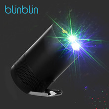 Blinblin лазерный свет проектора светодиодный эффект лампы Bluetooth Динамик для Семья вечерние Camp с диско Звездное атмосфера