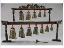decoration copper silver factory outlets Copper Dragon Belle Bell Instrument Tibetan Silver word Wholesale bronze