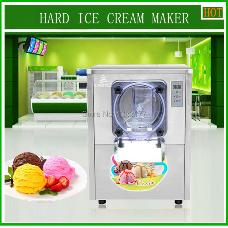 Free ship CE commercial Vertical ice cream machine,  a batch freezer machine, Ice Cream Maker, hard Ice cream Machine buro a b m m