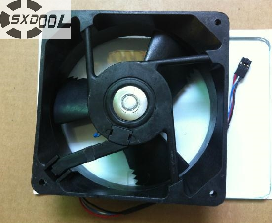 SXDOOL MD48KOSXP 12038 12cm 120mm  DC48V 0.16A 7.7W Radiator cooling fan original delta ffb1224she 12cm 120mm 12038 120 120 38mm 24v 1 20a cooling fan