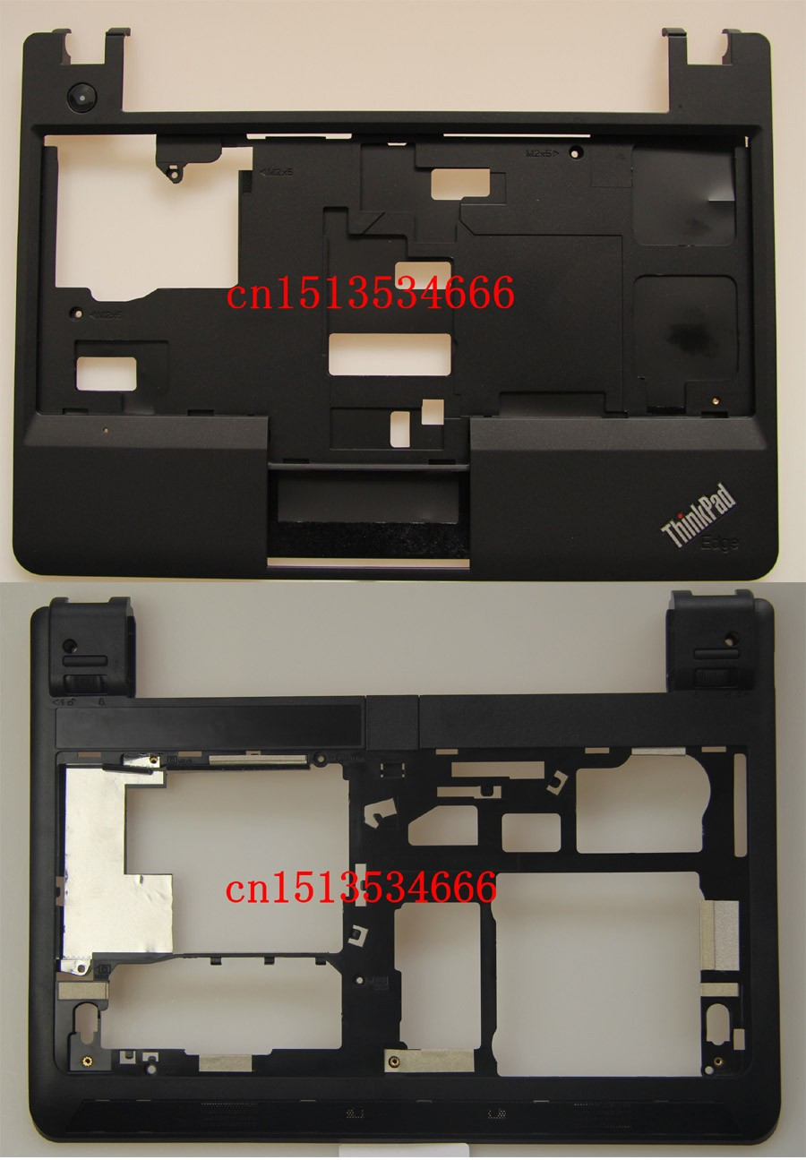 New Original LenovoThinkPad E130 E135 E145 Bottom Case Base Cover+Palmrest Upper Case Keyboard Bezel with Touch 00JT246 00JT244