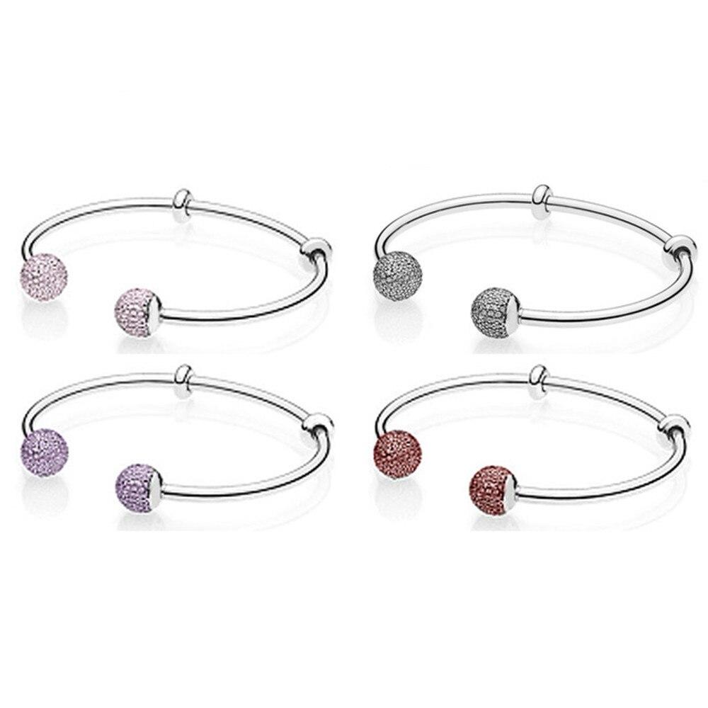Fanier 2018 dernière fois 925 argent Sterling Double tête motif perles Bracelet à bricoler soi-même un Bracelet breloques d'anniversaire