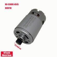 цена на ONPO 10.8V 14 teeth RS-550VC-8518 DC GEAR motor for DEWALT DCD710  electric drill cordles Screwdriver maintenance spare parts