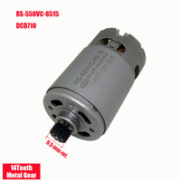 ONPO 10.8V 14 teeth RS 550VC 8518 DC GEAR motor for DEWALT DCD710 electric drill cordles Screwdriver maintenance spare parts