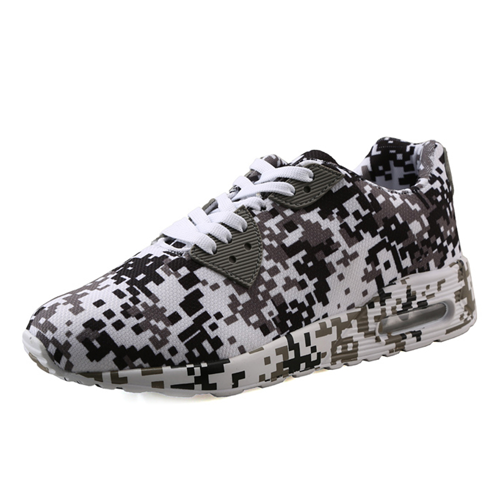 Camouflage Unisex Shoes Slipony men Shoes Height Increase male Comfort Footwear