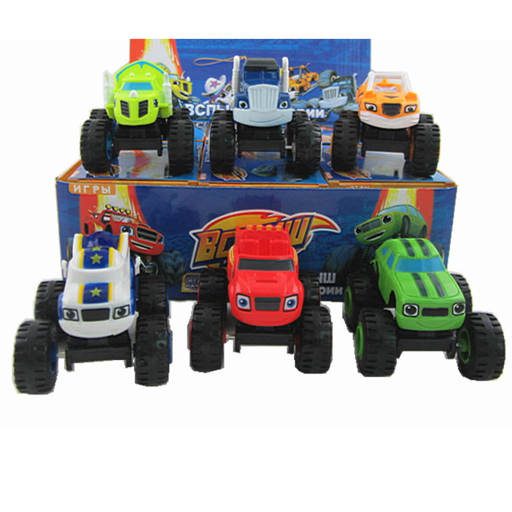new blaze monster machines toys vehicle car transformation with original box best gifts for kids free