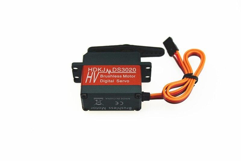 F16693 HDKJ D3020 20Kg 80g Full Metal Digital Robot Servo Brushless High Torque 90 Degree Rotation
