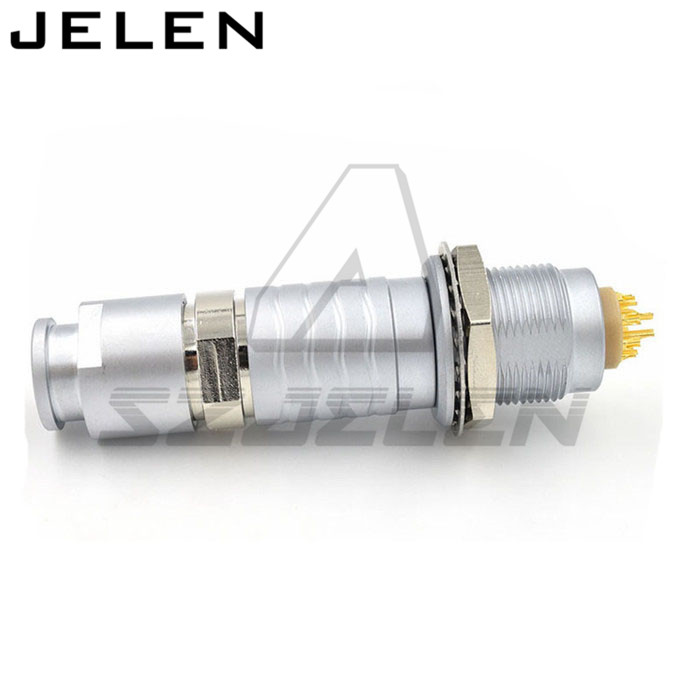 SZJELEN 2B series 16 pins connector, FGG.2B.316.CLAD ,ECG.2B.316.CLL, 16 pin Male and female connectors