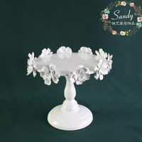 Cake Holder European Dessert Table Decoration Tall Tray Wedding Cake Stand Afternoon Tea Dessert Frame Iron