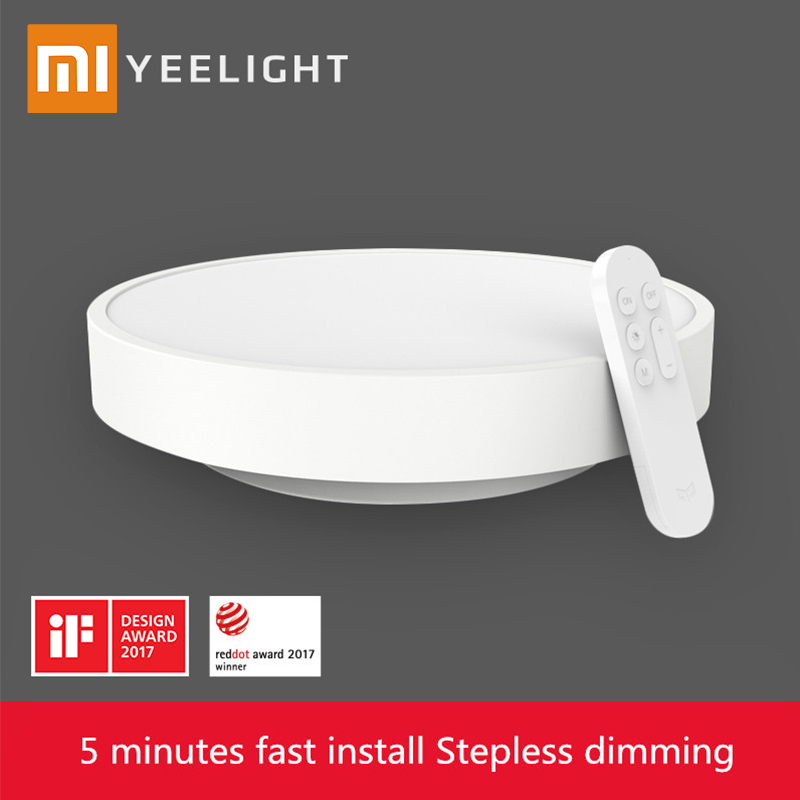 In Stock Original Xiaomi Yeelight Smart Ceiling Light Lamp Remote APP WIFI Bluetooth Control Smart LED Colorfull IP60 Dustproof