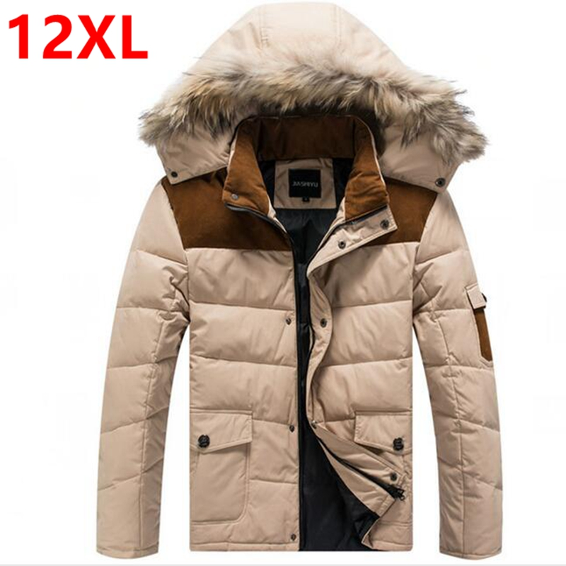 5XL 6XL 90 White Duck Down Jacket Winter Warm Jacket Coat Men s Feather Ultralight Down