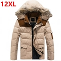 Free shipping plus size  Winter down coat Fat people men's clothing down coat  winter jacket men duck down 11XL 10XL 9XL 7XL 8XL