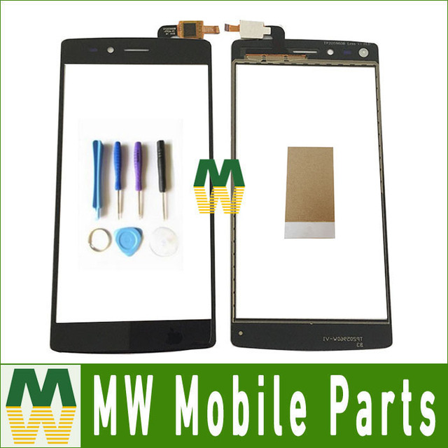 1PC/ Lot Black Color Top Quality For Vernee Apollo lite Touch Screen  Digitizer Replacement Part  With Tools& Tape
