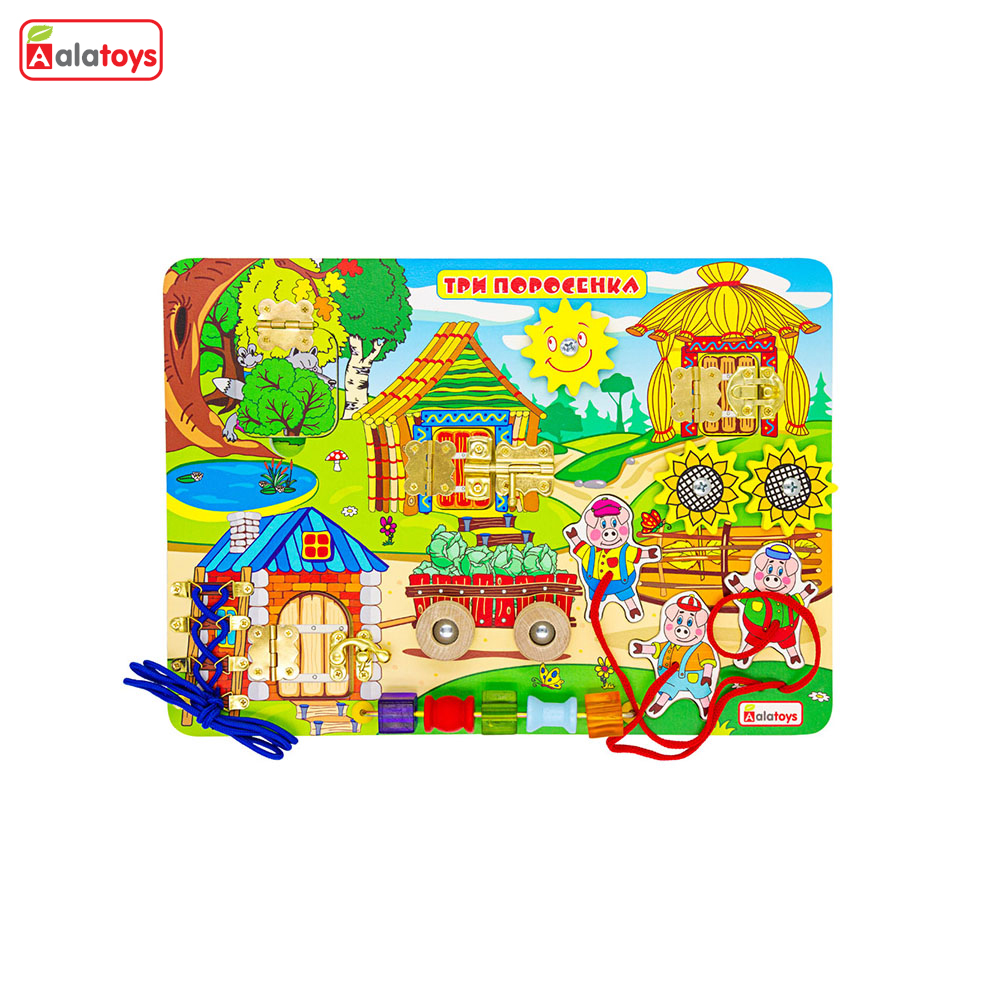 Puzzles Alatoys BB213 play children educational busy board toys for boys girls lace maze toywood puzzles alatoys lb1032 play children educational busy board toys for boys girls lace maze