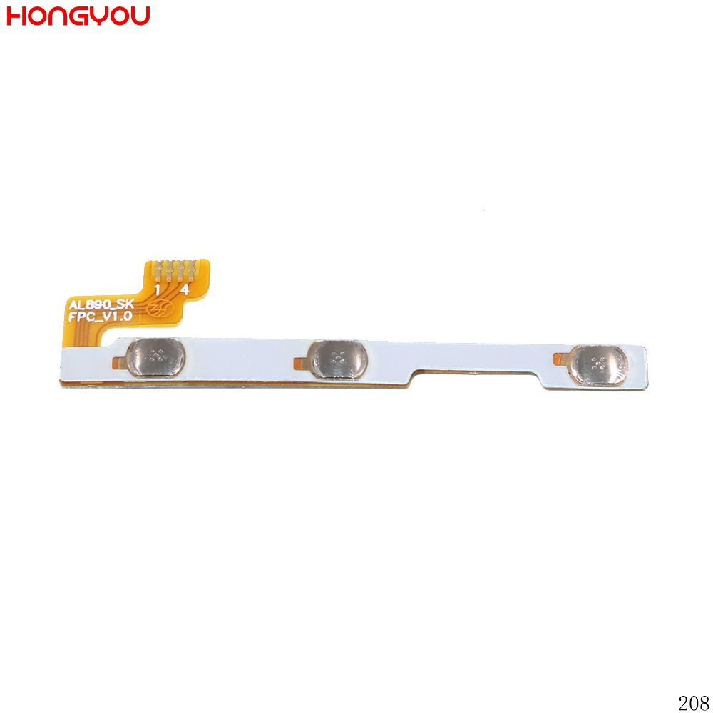 Power Button Switch Volume Button Mute On / Off Flex Cable For Lenovo P70 P70T P70-T