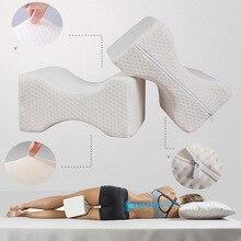 Подушка для ног из пены с эффектом памяти, подушка для бедер, поддержка колена, облегчение боли, Ортопедическая подушка для выравнивания бедер, подушка для ног, подушка для поддержки ног
