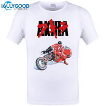 2017 New Design Akira Cult 1988 Japanese Animated Sci Fi Film T Shirt Mens Tokyo Cyberpunk Camisetas Tees Shirt Plus Size S-6XL