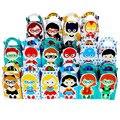 Meninas e Meninos de Super-heróis Caixa Queque Caixa Favor caixa de Doces Caixa de Presente Menino Suprimentos Crianças Festa de Aniversário Decoração