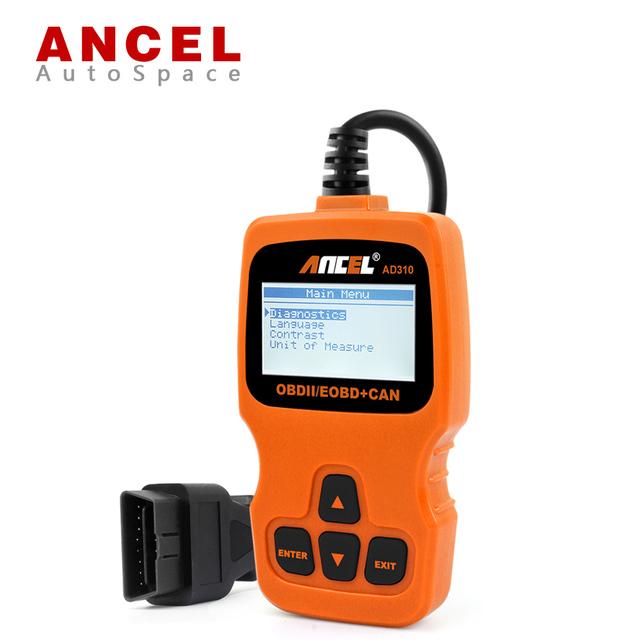 Nueva Ancel AD310 OBD2 Lector de Código de DTC Escáner de Diagnóstico Automotriz OBDMATE herramienta OBD 2 II Mejor Que Vgate MaxiScan VS890 OM123