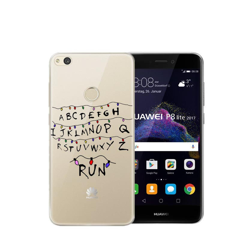 Cellphones & Telecommunications Phone Bags & Cases Stranger Things Christmas Lights Sports Girl Doctors Nurses Unicorn Soft Case Cover For Huawei P8 Lite 2017 P8 P9 Lite P10 Plus Providing Amenities For The People; Making Life Easier For The Population