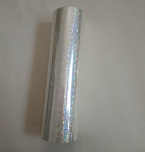 Image 3 - Holographic foil  transparent Small circle Y06 stamping foil hot press on paper or plastic heat stamping film