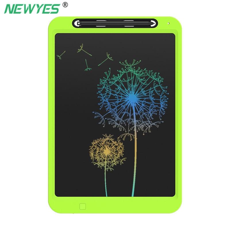 NeWYeS 12 polegada Tablet de Desenho Gráfico Colorido Eletrônico Tela LCD placa de Escrita Placa de Escrita Rabisco Papel Caçoa o Presente com Caneta