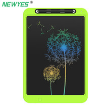 NeWYeS 12 inch Drawing Tablet Colorful Screen Electronic Graphic LCD Writing Doodle Board Handwriting Paper Kids Gift with Pen