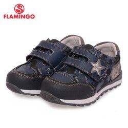 Flamingo Rusia marca 2017 nueva llegada de primavera y otoño chico sneakers estilo moda cuero cómodo ocasional Zapatos xp5817