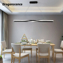 Dragonscence Creative loft pendant lights Led modern loft suspension hanging ceiling lamp home lighting for dinning room