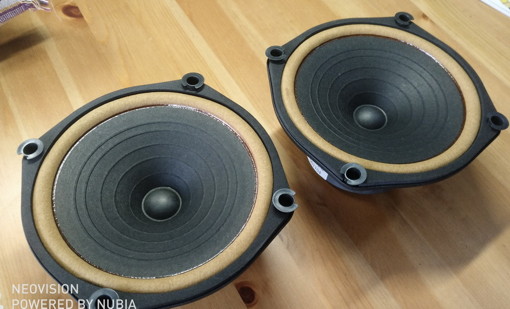 Pair MeloDavid HiEND 6.5inch  DIATONE P610  Rebuild MK3 Fullrange Speaker (2018 New  Eddition)