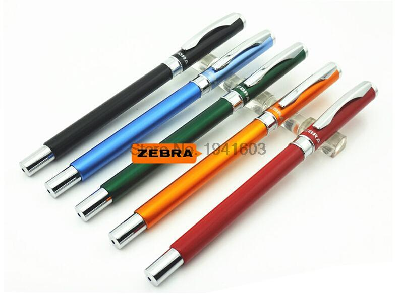 4pcs/lot Rollerball Pen Japan Zebra JJ4 Glamour Gel Pen 0.5mm 9 colors to choose office and school stationery zebra page 9