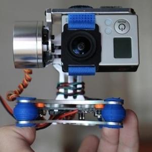Image 1 - 2 محور قابل للتعديل فرش تبديد الحرارة التصوير الجوي متوافق للغاية Gimbal تحكم المحرك سائق ل Gopro3