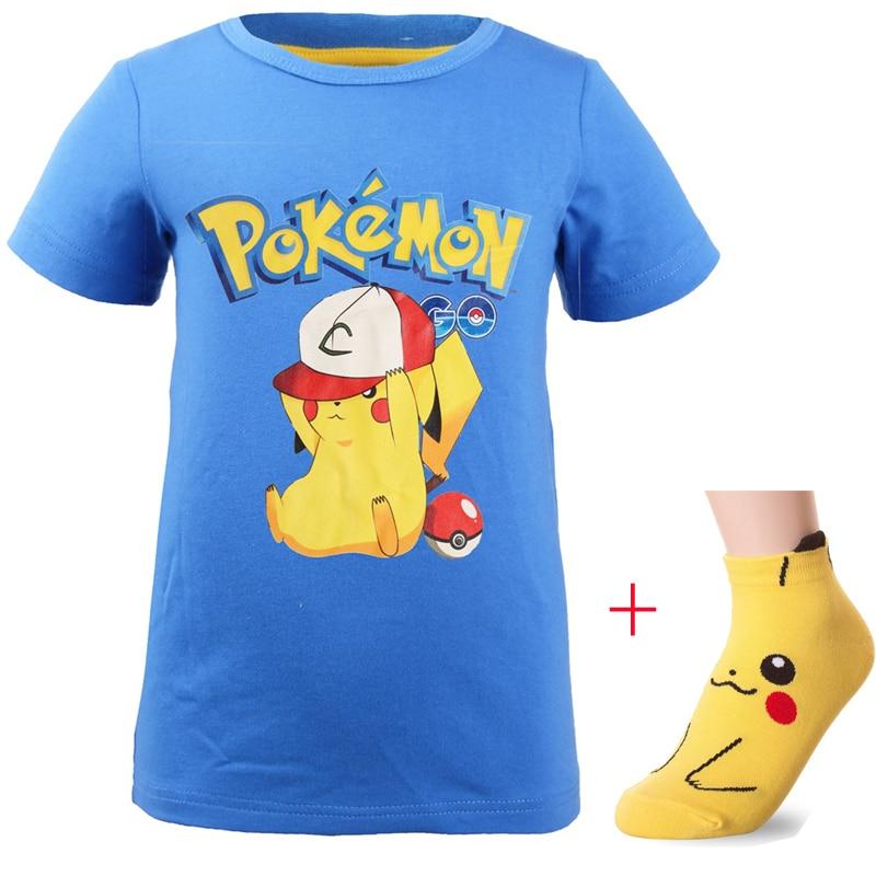 new-baby-boys-summer-font-b-pokemon-b-font-go-pikachu-shirt-kids-clothes-girls-t-shirt-short-sleeves-tshirt-clothing-cartoon-printing-socks