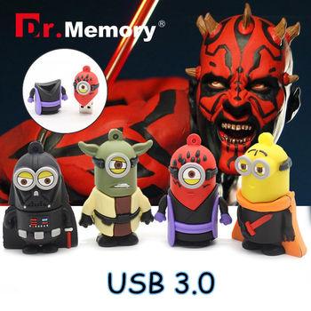 Star wars usb 3.0 USB flash drive Stick 32G usb flash 64GB Pen Drive creative minions memory drive best Christmas gift  Yoda