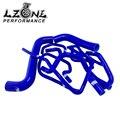 LZONE ГОНКИ-Синий Силиконовый Шланг Радиатора Комплект для Subaru Impreza WRX/STi GDB, EJ20 10 ШТ. JR-LX-1803D-BL