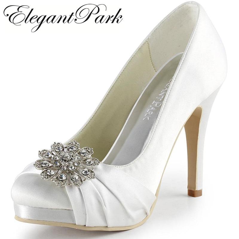 Aliexpress.com : Buy Women Wedding Shoes Round Toe
